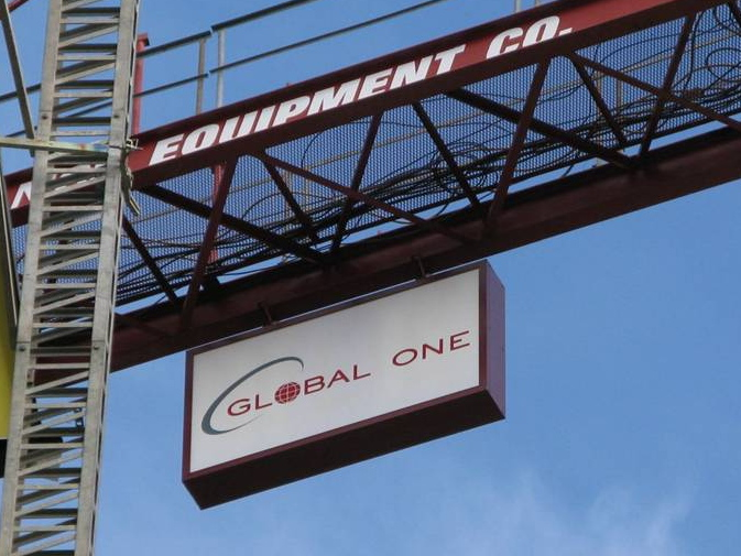 Global One Crane Sign (Major Close Up)(Ultimate Crop)(12-2-09).jpg